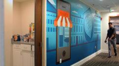 Bizness Apps Office Mural