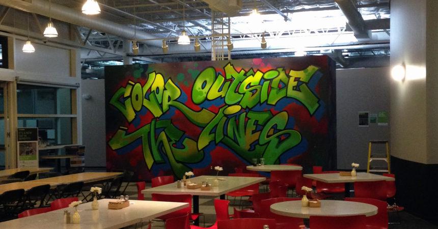 Nvidia Graffiti Mural