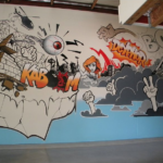 Live Art Illustration in Los Angeles