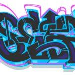 LA Graffiti Art Digital by Self