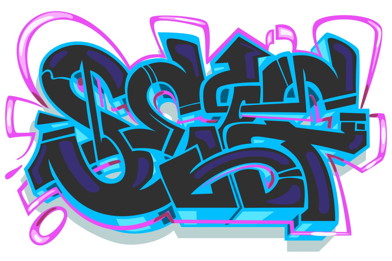 Los Angeles Digital Graffiti Vector Los Angeles Graffiti Artist For Hire