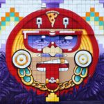 Self Uno Sun God Mural in LA