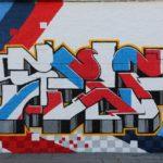 Self Graffiti Letters in LA
