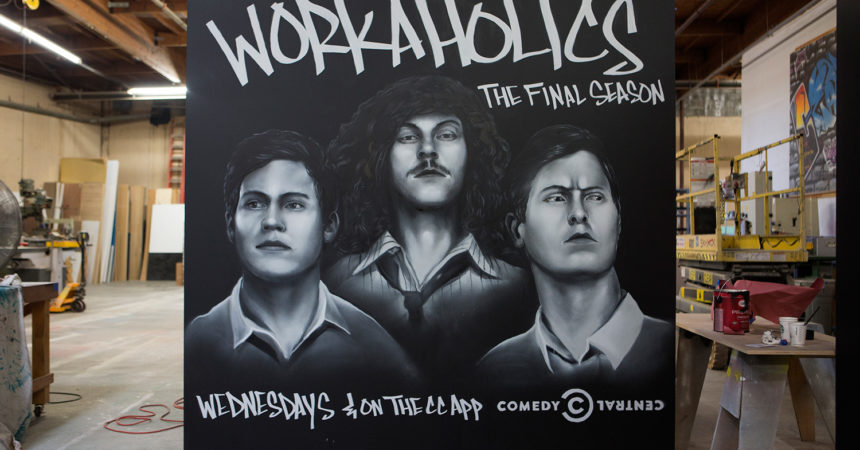 Three Character Portrait for Workaholics on CC