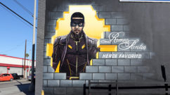 Romeo Santos Street Art