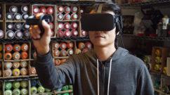 VR Digital Graffiti Demonstrations