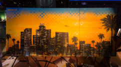 Graffiti Canvas painted Live