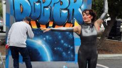 Live Graffiti Mural at Code Con 2017