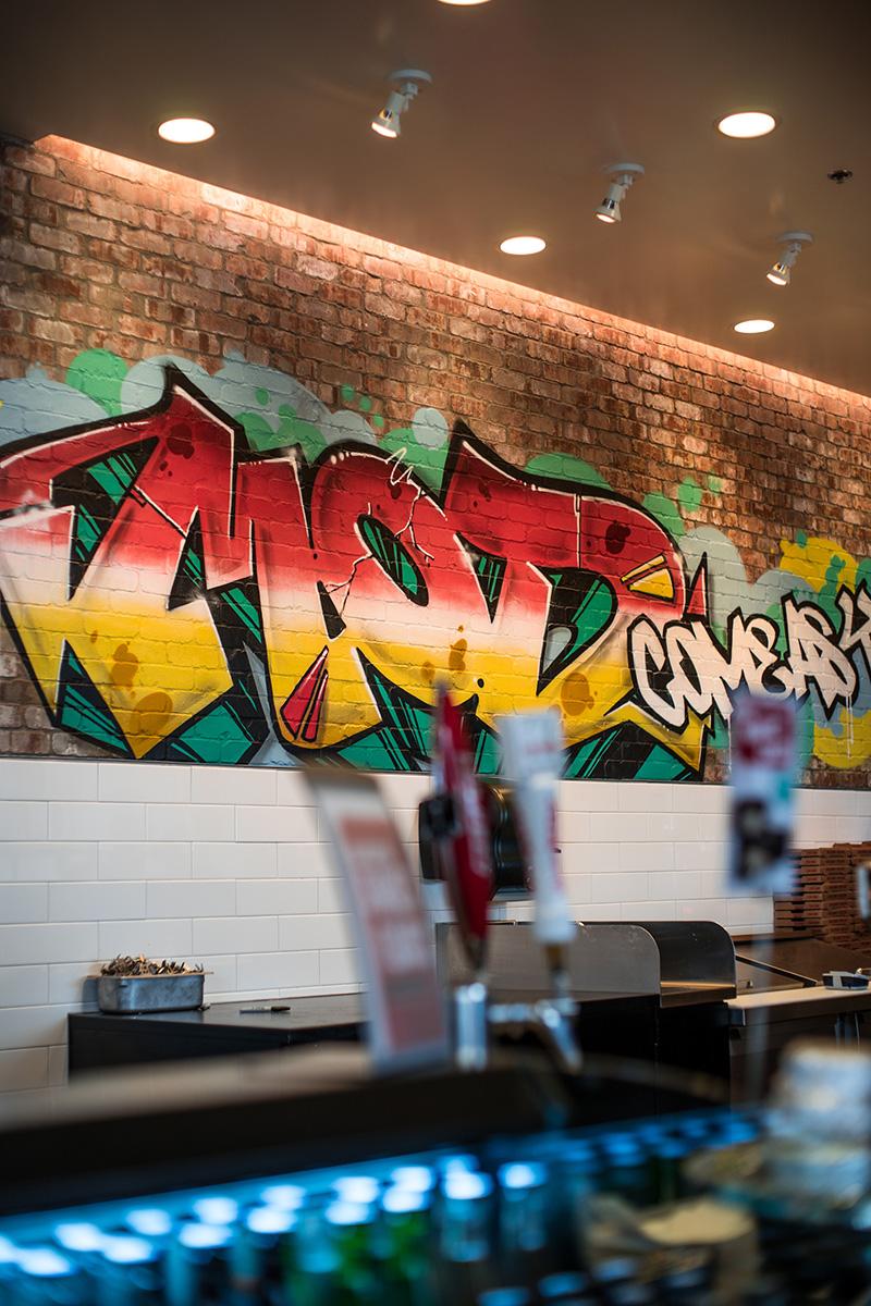 Salinas CA Pizza Shop Art