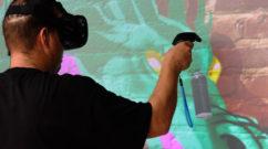 Real Time VR Graffiti